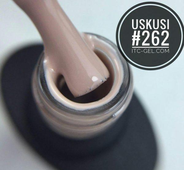 Uskusi, Гель-лак №262 (8 мл.)-3